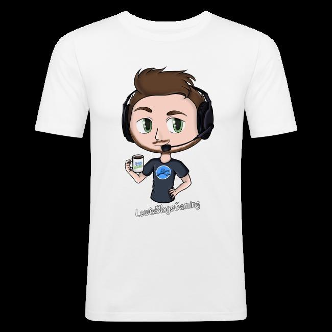Men's Slim Fit T-Shirt: LewisBlogsGaming