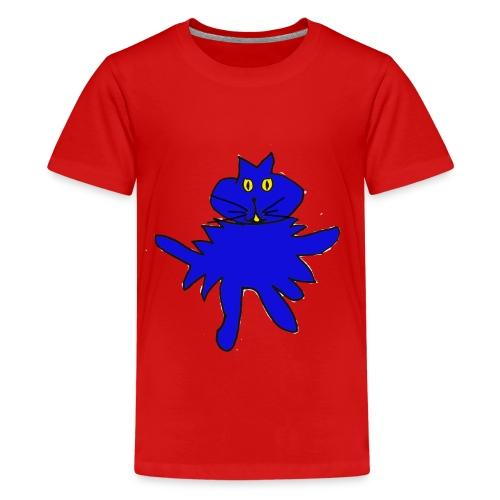 Splatcat_2 - Teenage Premium T-Shirt