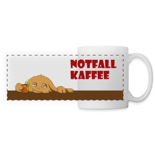 Notfall Kaffee - Panoramatasse