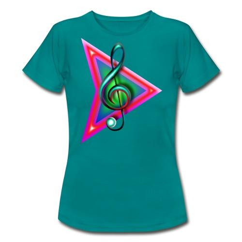 Play music- grand format - T-shirt Femme