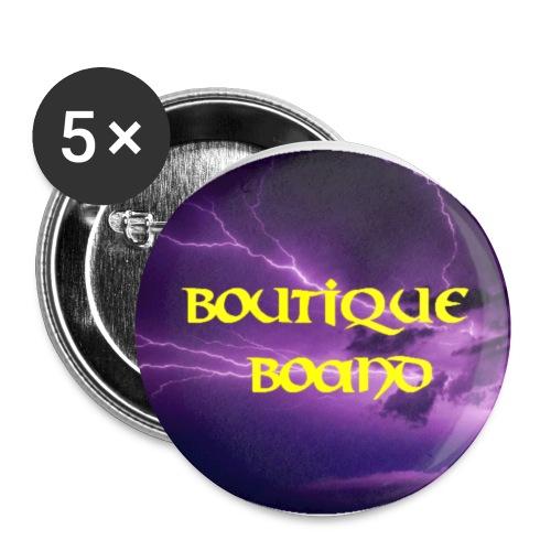 Badge petit 25 mm - Lot de 5 petits badges (25 mm)