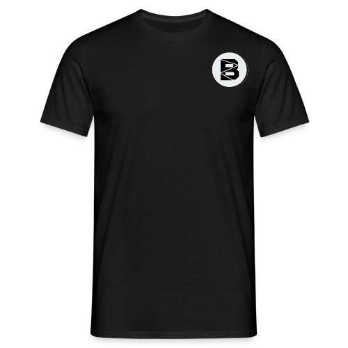T-Shirt mit B Logo - Männer T-Shirt