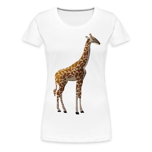 T-shirt Premium Femme giraffe - T-shirt Premium Femme