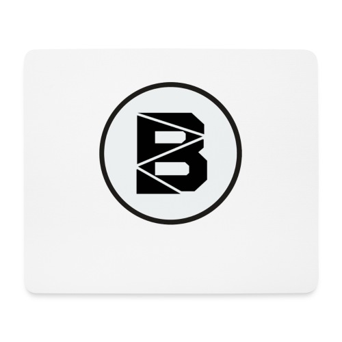 Mousepad mit B Logo - Mousepad (Querformat)