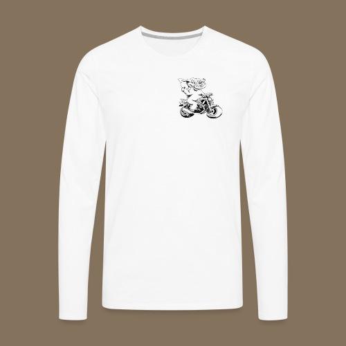 Tee shirt manches longues Premium Homme - T-shirt manches longues Premium Homme