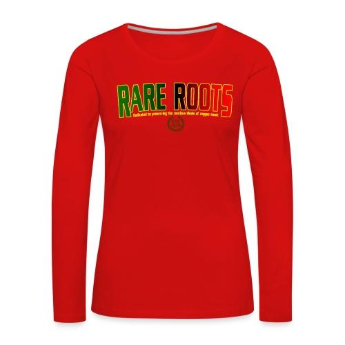 RARE LADIES WEAR - Women's Premium Longsleeve Shirt
