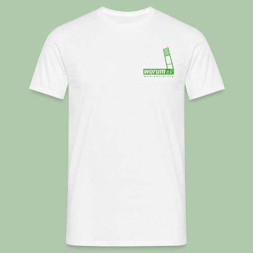 Worum e.V. T-Shirt - Männer T-Shirt