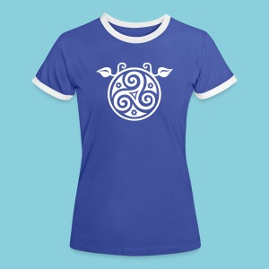 Women's T-Shirt Triskele - Women's Ringer T-Shirt