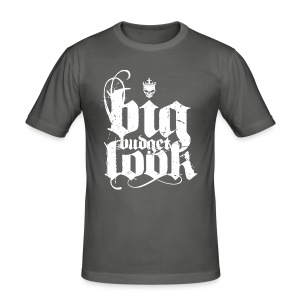 Big Budget Look Skull - Männer Slim Fit T-Shirt
