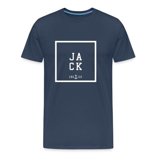 Jack Cruise Square - Männer Premium T-Shirt