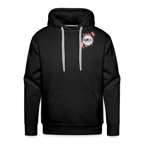 SWEAT SHIRT A CAPUCHE HOMME CLUBS DJ RADIO - Sweat-shirt à capuche Premium pour hommes