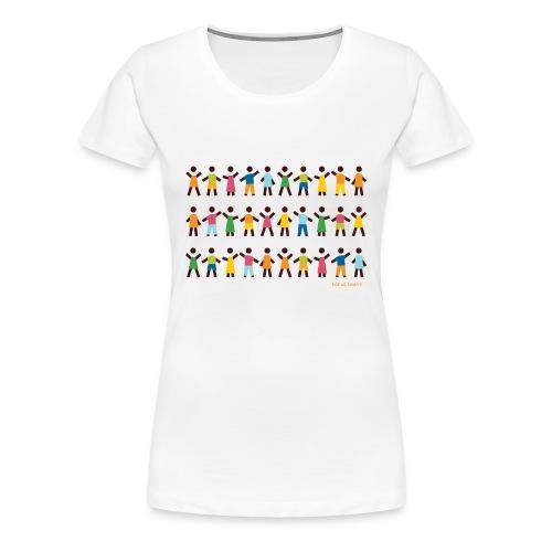 Let us Learn (f) - Frauen Premium T-Shirt