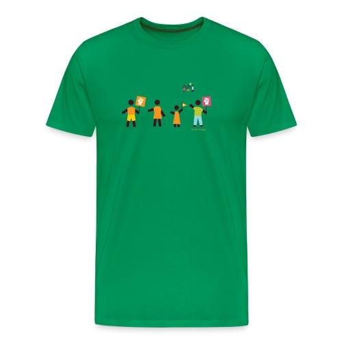 Be the Change (m) - Männer Premium T-Shirt