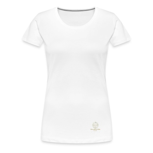 Tennishütten Revival White - Frauen Premium T-Shirt