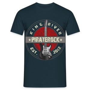 Pirater Rock King River - T-shirt herr
