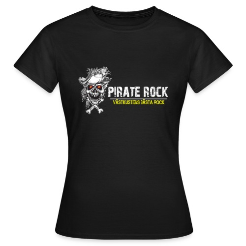 Pirater Rock Bästa Rock - T-shirt dam