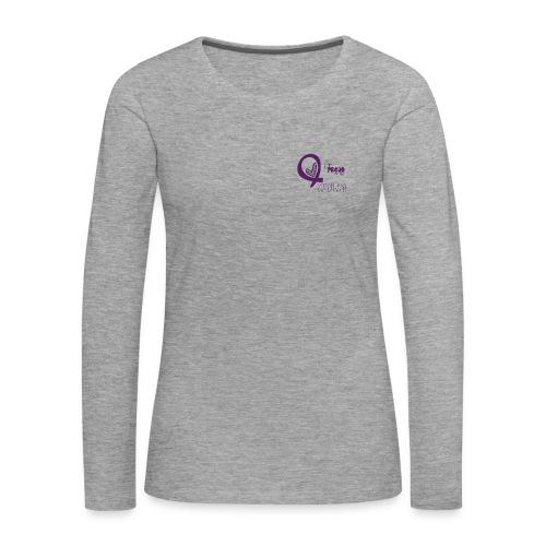 Damen Langarmshirt proud - Frauen Premium Langarmshirt