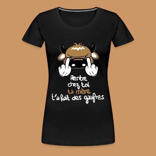 La Gaufre - T-shirt Premium Femme