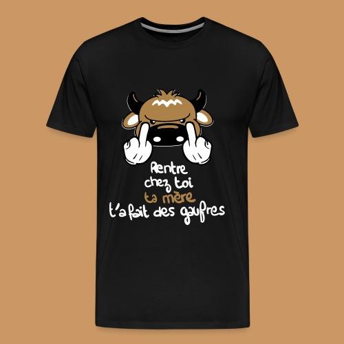 La Gaufre - T-shirt Premium Homme