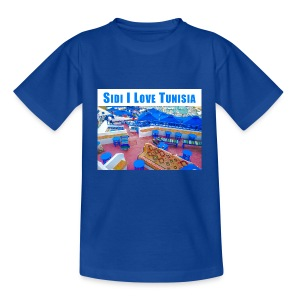 Sidi I love Tunisia  - Kids' T-Shirt