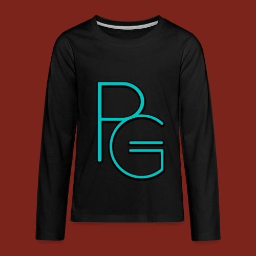 ProgamesNl teenager shirt lange mouwen - Teenager Premium shirt met lange mouwen