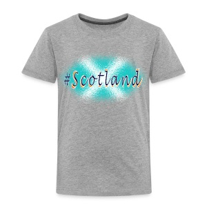 Hashtag Scotland blue and white kid's t-shirt - Kids' Premium T-Shirt