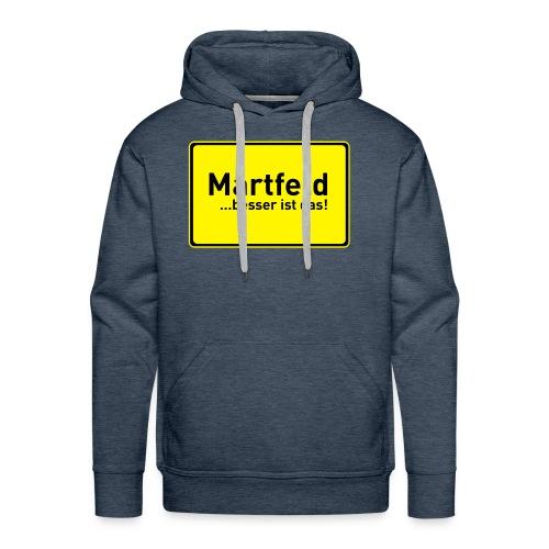 Männer Premium Kaptzenpulli / Hoodie Martfeld verschiedene Farben - Männer Premium Hoodie