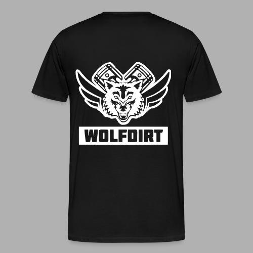 WolfDirt T-Shirt Men - Männer Premium T-Shirt