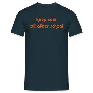 Keep Cool Navy Mens T-shirt - Men's T-Shirt