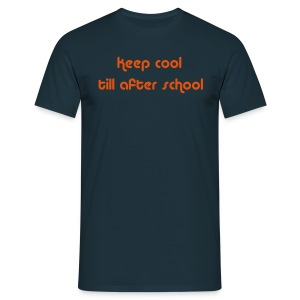 Keep Cool Navy Mens T-shirt - Men's T-Shirt