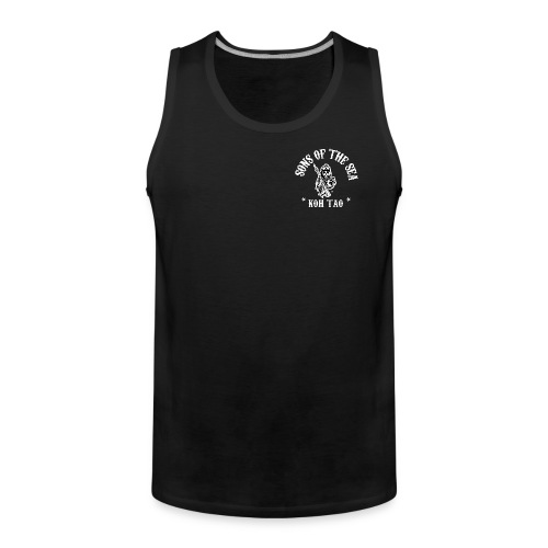 men's Tank Top #2 - Sons of the Sea – Koh Tao – BLACK - Men's Premium Tank Top