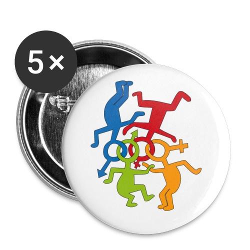 LOVE is LOVE  - Buttons medium 32 mm