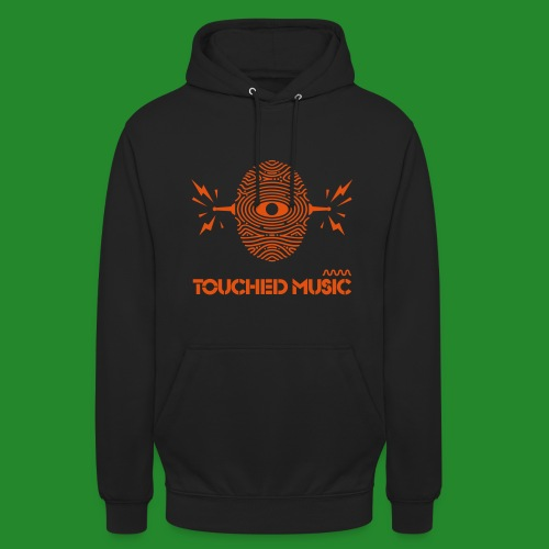 TOUCHED MUSIC LOGO [large - Unisex Hoodie