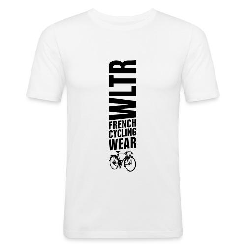 LOGO PRINT BLACK - T-shirt près du corps Homme
