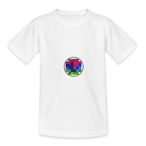 PixelColor - T-Shirt weiß - Teenager T-Shirt