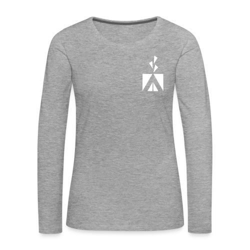 Naisten pitkähihainen - Naisten premium pitkähihainen t-paita