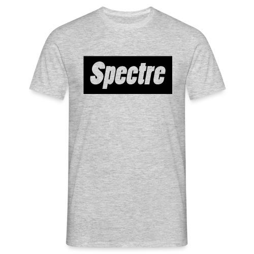Grey T-Shirt with black logo - Men's T-Shirt