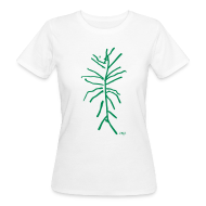 Tee shirts ~ Tee shirt Bio Femme ~ Plante verte by AMJB T-shirt femme bio