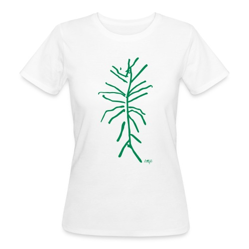 Plante verte by AMJB T-shirt femme bio - T-shirt bio Femme