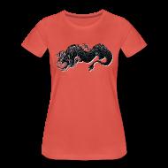 T-Shirts ~ Frauen Premium T-Shirt ~ lucky dragon!