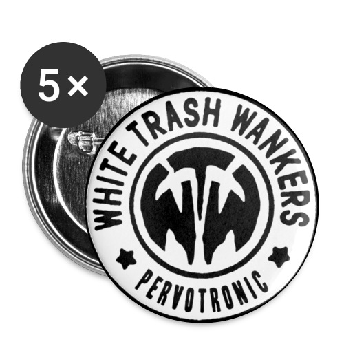 WTW-Pervotronic (Weiss) - Buttons klein 25 mm