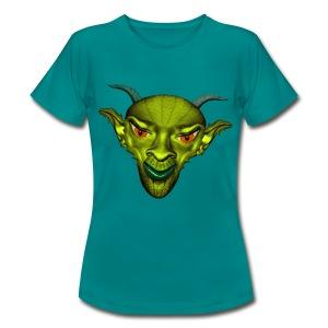Créature à cornes - T-shirt Femme