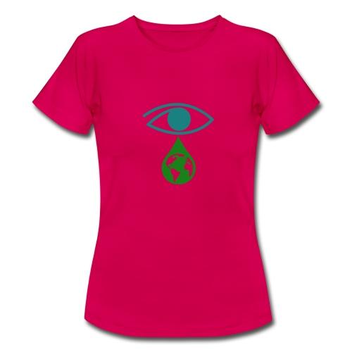 Umwelt Träne - Frauen T-Shirt
