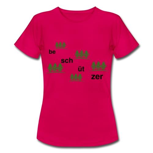 Wald Beschützer - Frauen T-Shirt