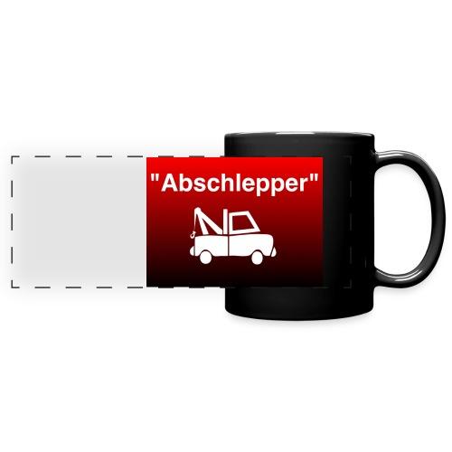 Abschlepper Tasse - Panoramatasse farbig