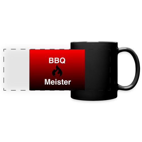 BBQ Meister Tasse - Panoramatasse farbig