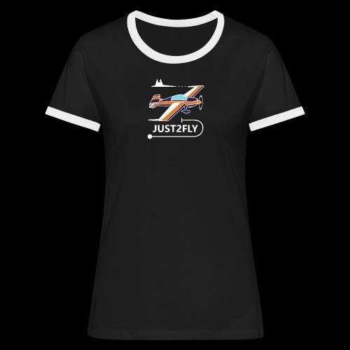 Tee Shirt Femme - T-shirt contrasté Femme