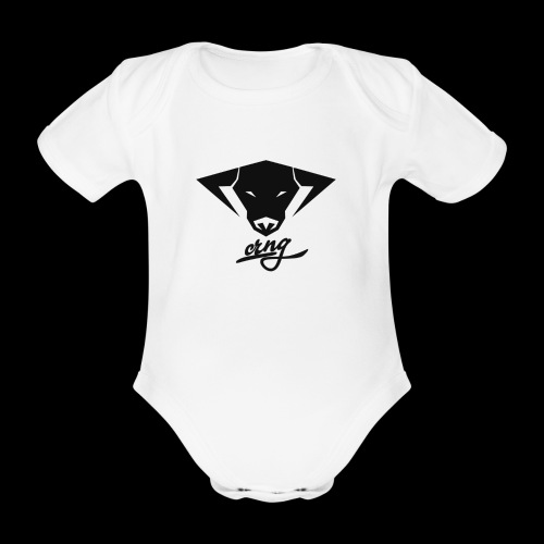 CRNG Bull Baby Suit - Baby Bio-Kurzarm-Body