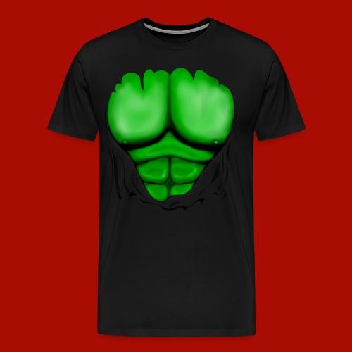 Limited edition hulk chest shirt - Men's Premium T-Shirt