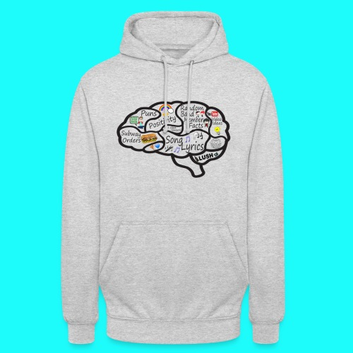 My Brain Hoodie Unisex DO NOT CHOOSE BLACK - Unisex Hoodie
